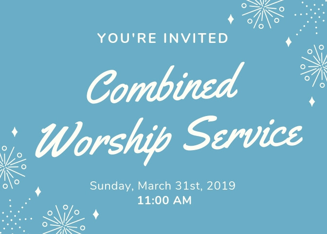 Combined Service March 31, 2019