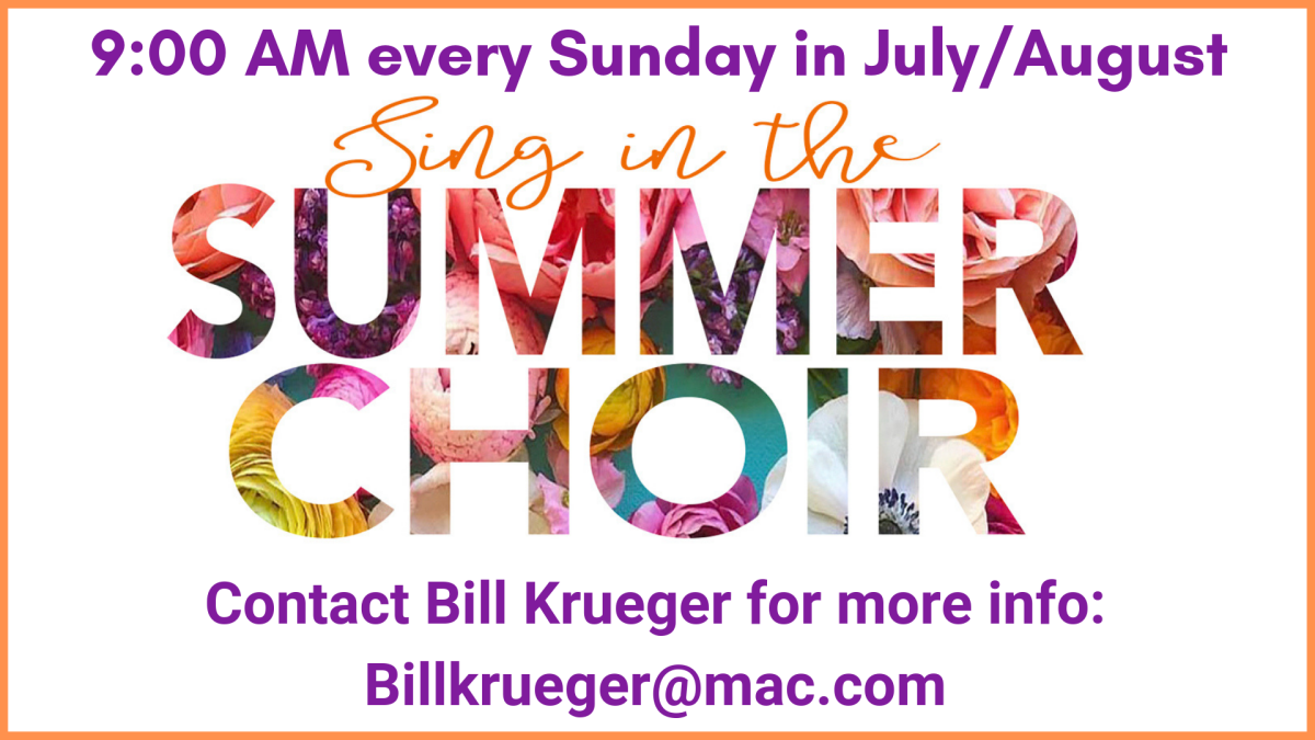 Special Summer Choir