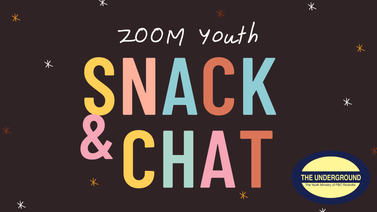 Youth Zoom Meeting Snack & Chat